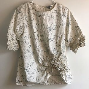 COS Patterned Top - size 6